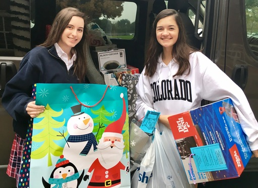 Ursuline Gives Back with Angel Tree