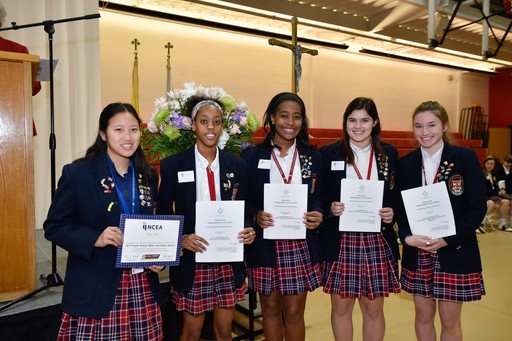 Five Students Receive Special Recognition