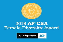 Ursuline Wins AP Computer Science A Female Diversity Award