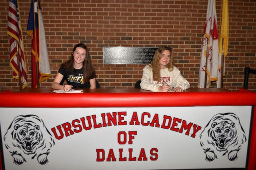 Two Athletes Sign Letters of Intent